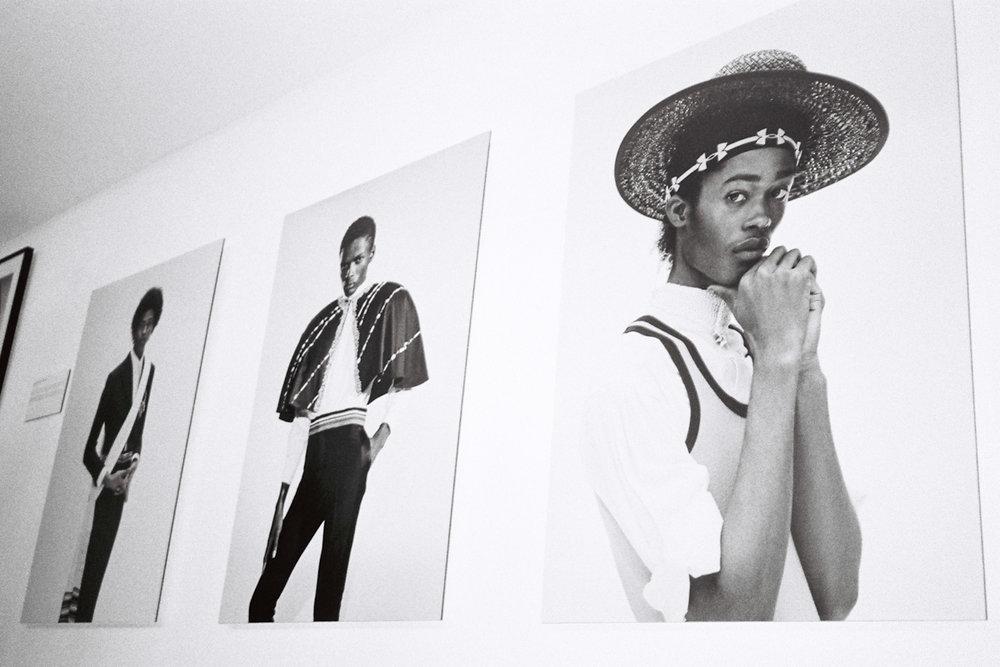 """. Jamie Morgan - """"Killer portraits"""" exhibition openingParis 2019"""