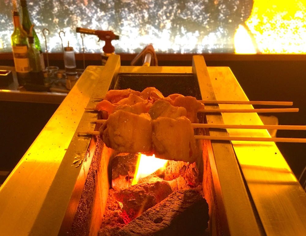 Robata Charcoal grill