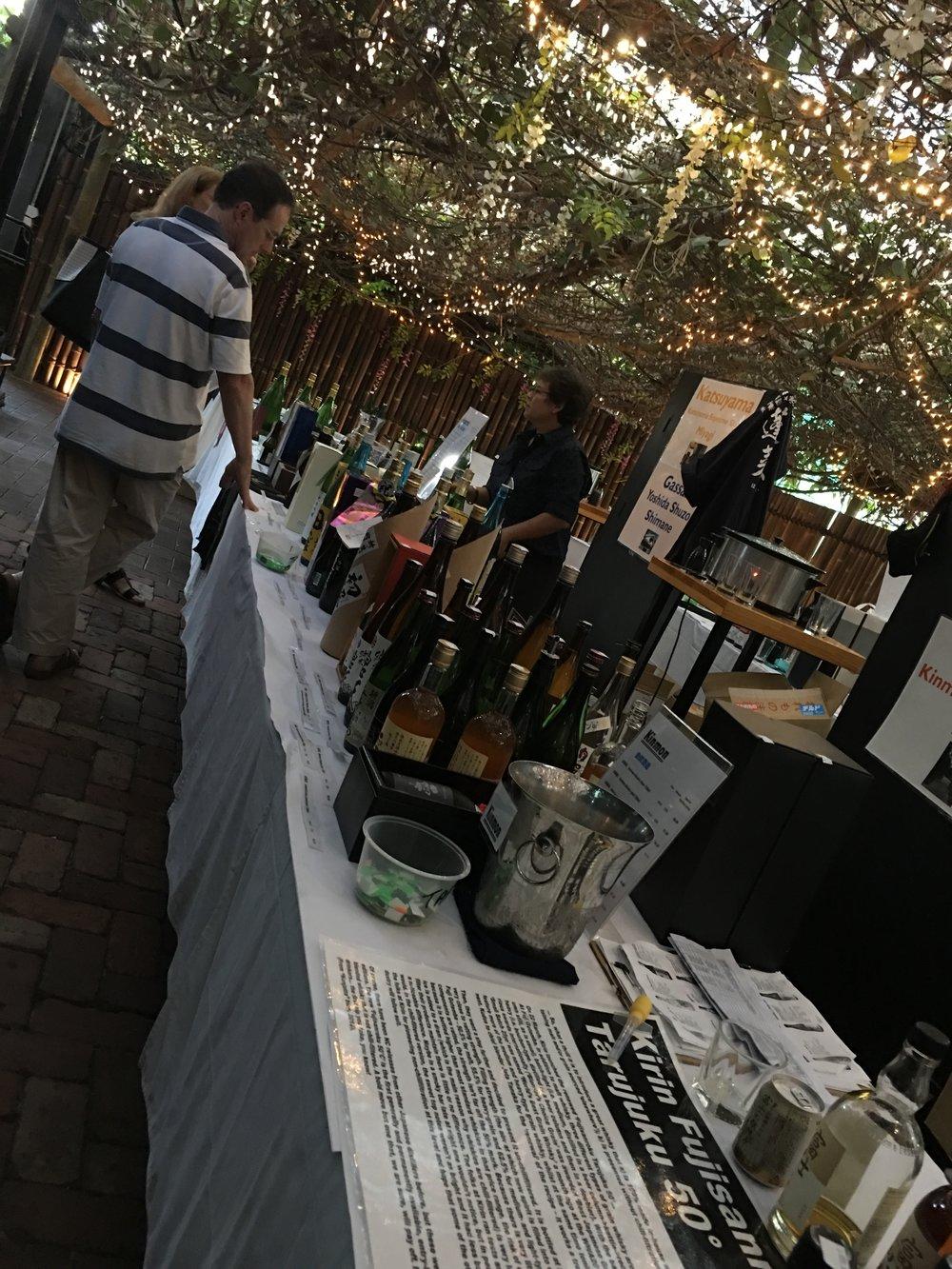 Buy sake in Perth at the festival. Take home.