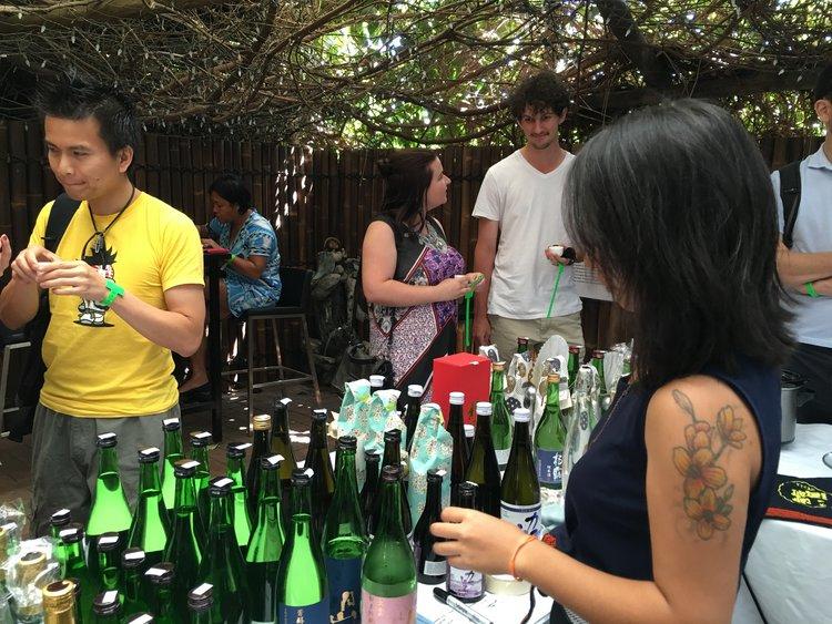 Largest sake festival in Perth