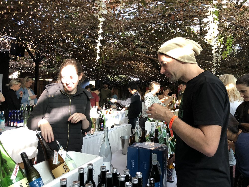 Ask trained sake professionals questions about sake.