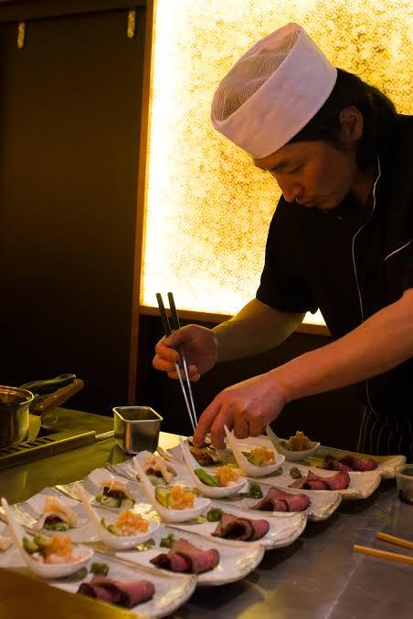 Head Chef Tetsuya Sakamoto