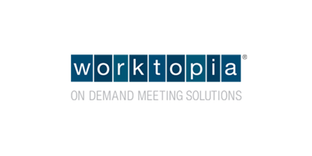 The search and booking platform for small, simple meetings (acquired by Cvent). Visit Worktopia.