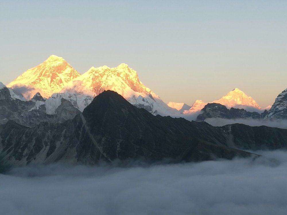 Everest, Lotse, Makalu