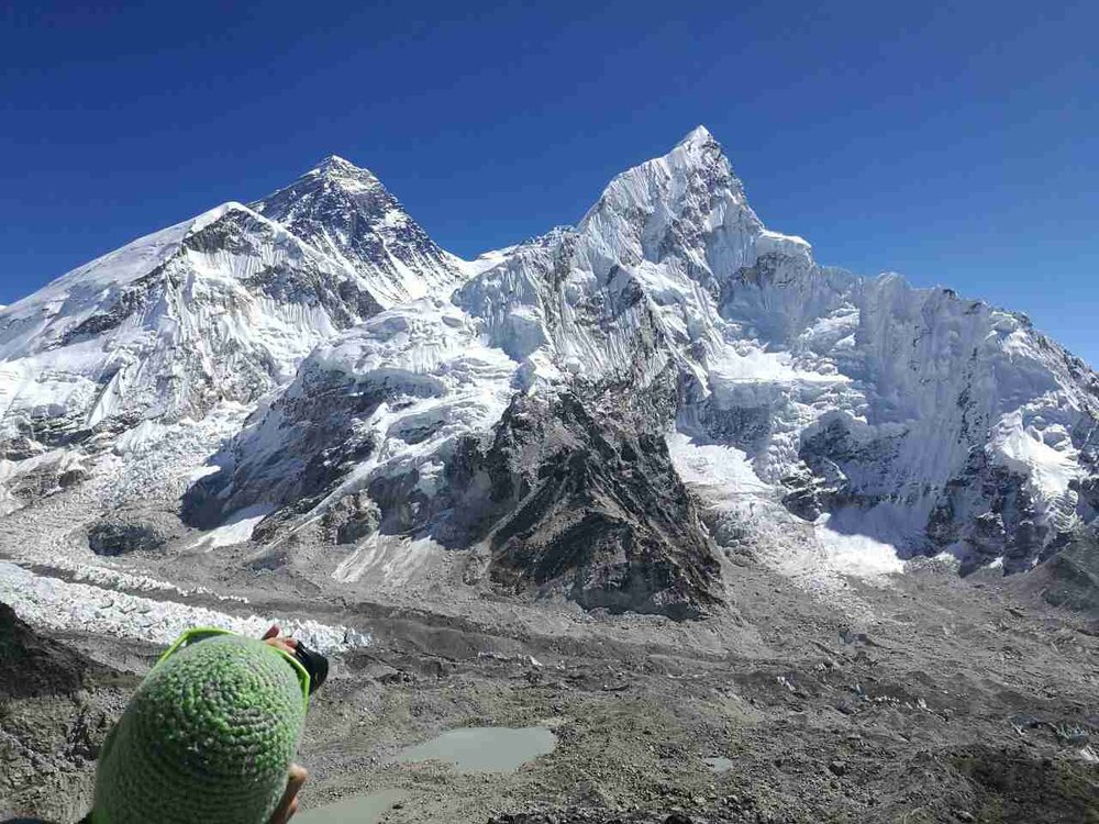 Everest-Lothse-Nupthse iz Kala Pattar