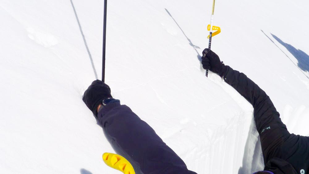 Test stabilnosti snežne odeje