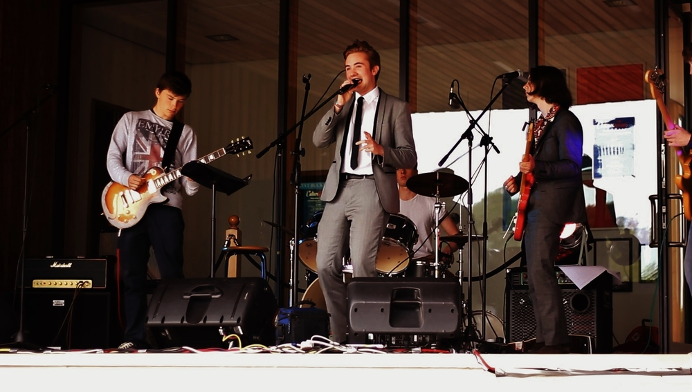 Performing with my band - June 2013