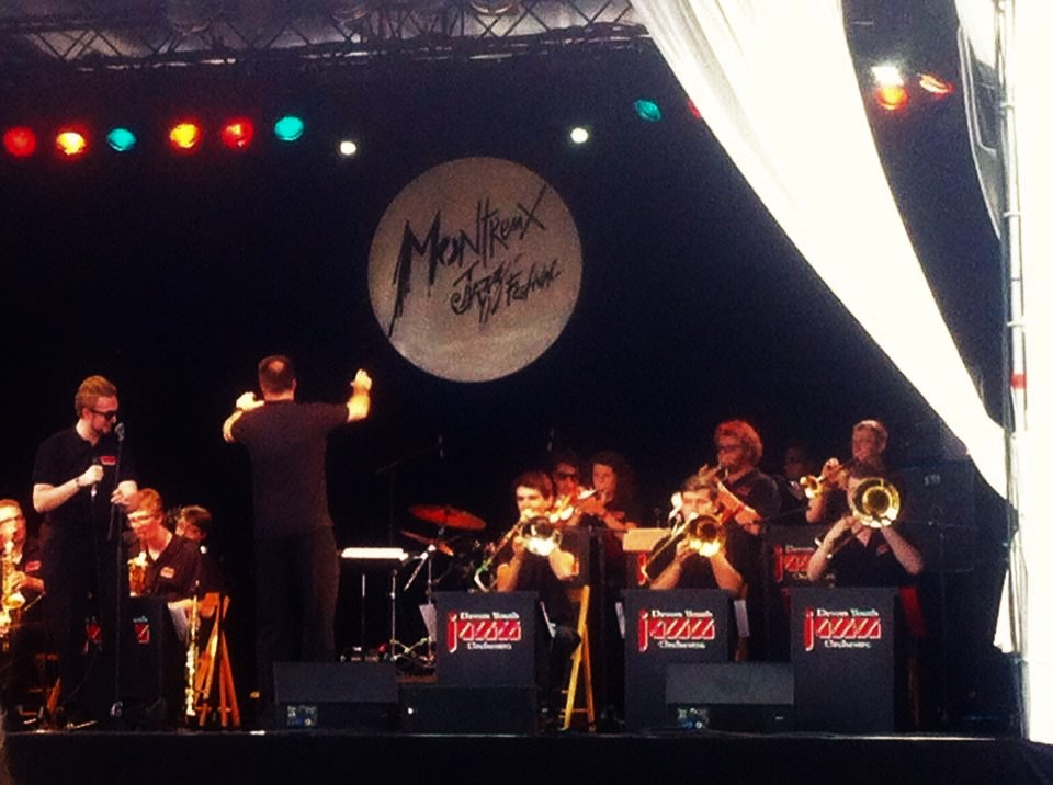 Performing at the  Montreux Jazz Festival - July 2014