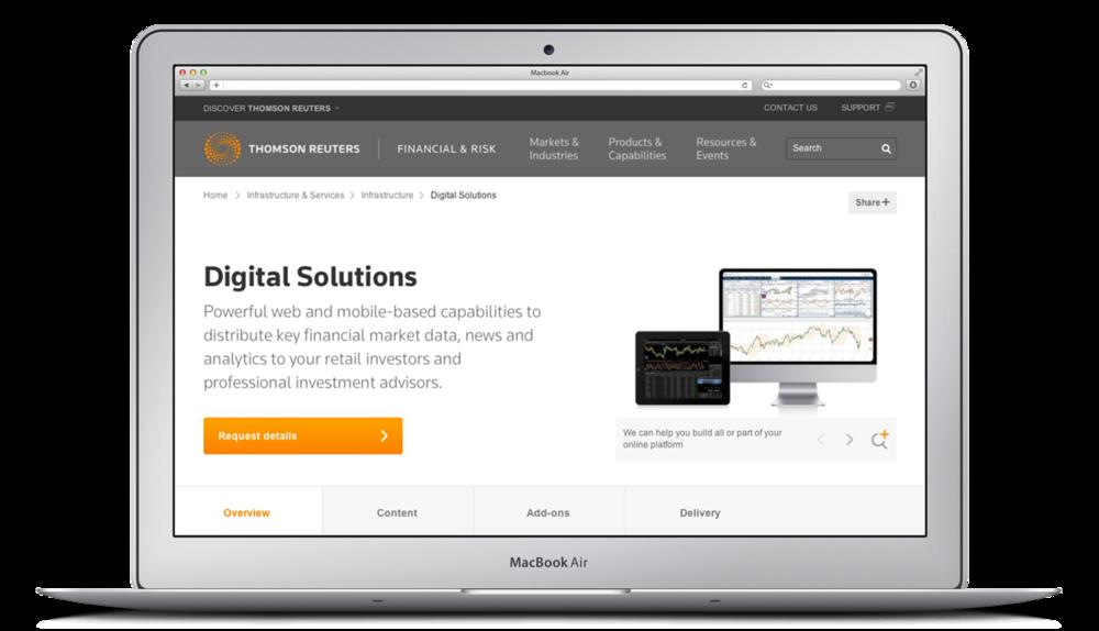 Thomson Reuters — Carpenter Group