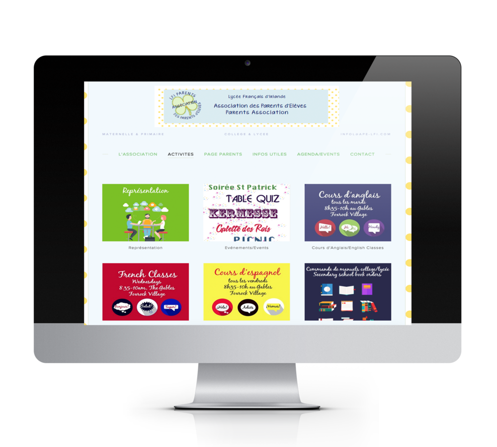 LFI Parents Association website