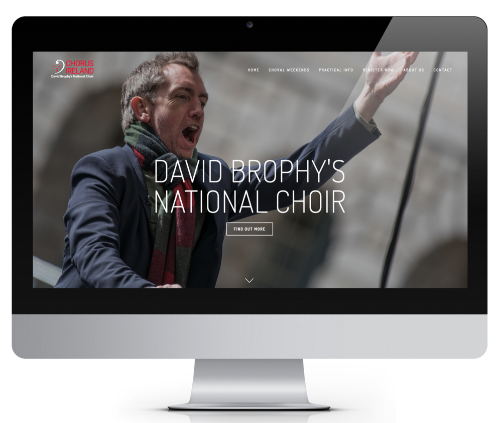 Chorus Ireland website
