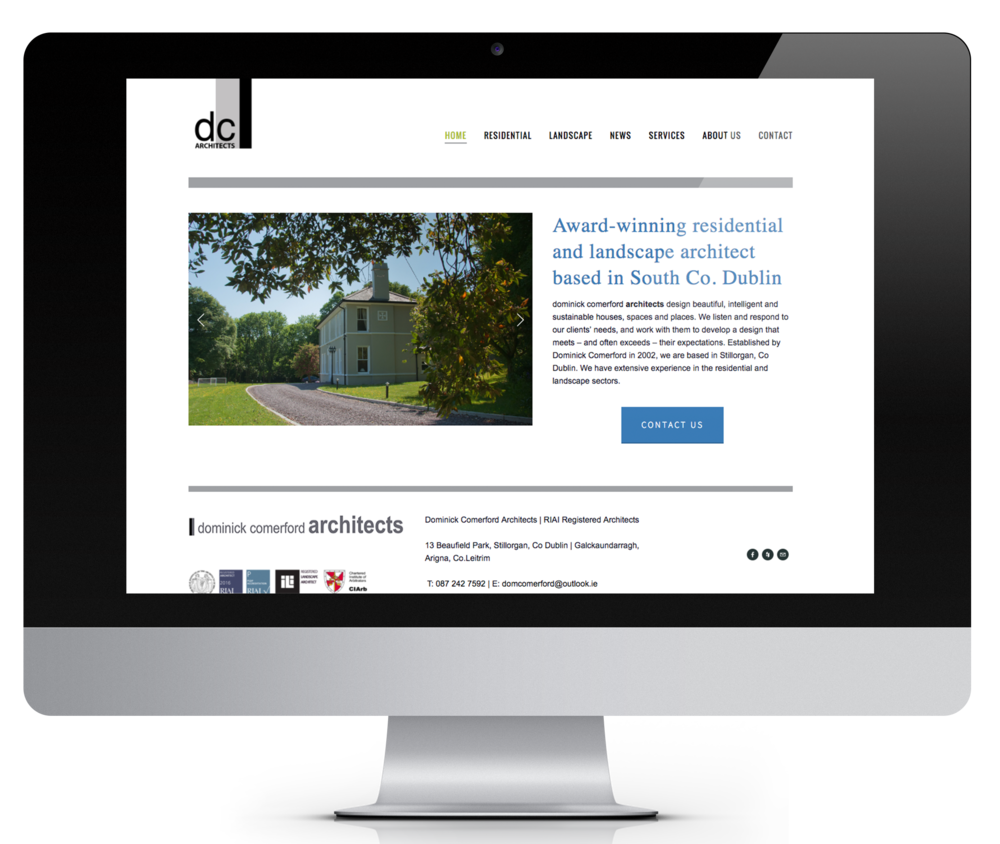 DC Architects approached me to design their website, showcasing some of their best designs. They now manage the site themselves, thanks to the user-friendly CMS that I use for all my websites.