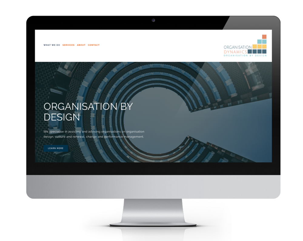 Organisation Dynamics is an independent business consultancy that wanted a more professional look and feel for their website, as well as a new logo and branding.