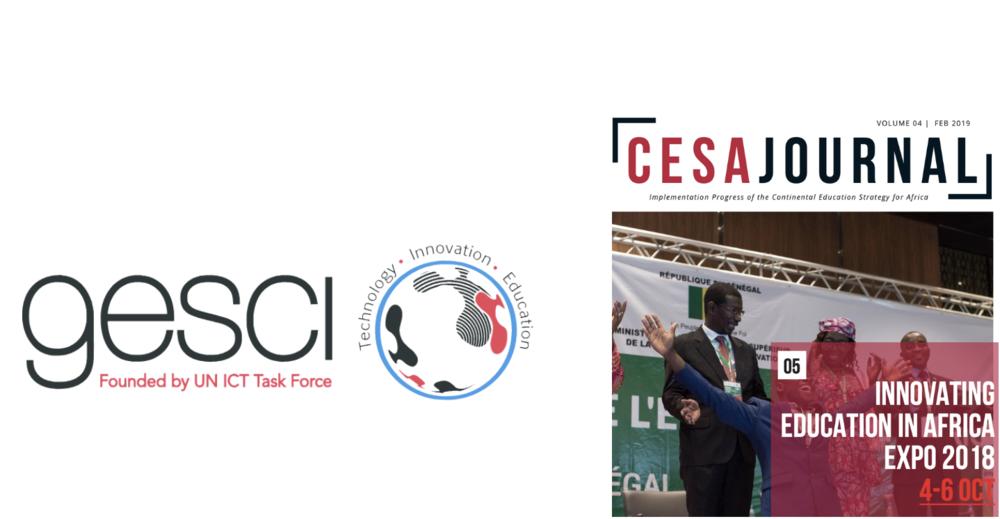 GESCI featured in most recent CESA Journal