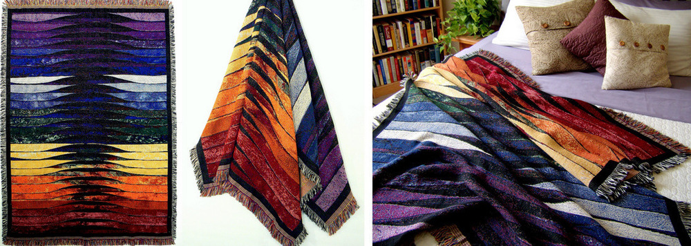 WOVEN THROW - Balance.