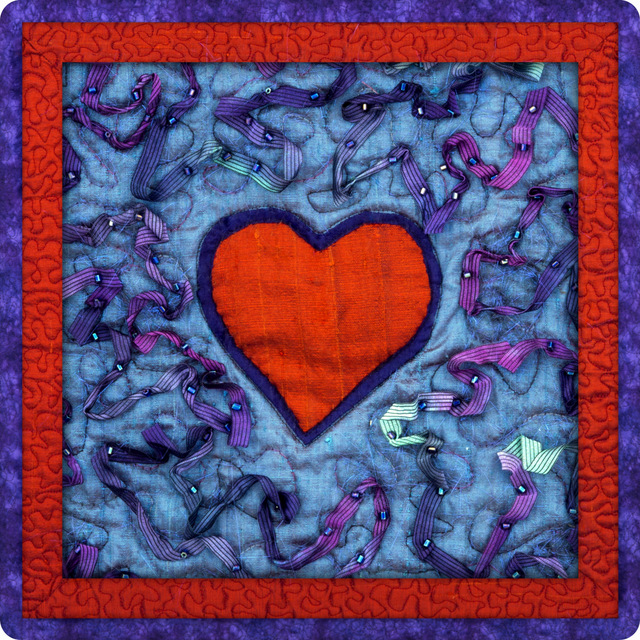 Heart Quilt, Motivational Gift