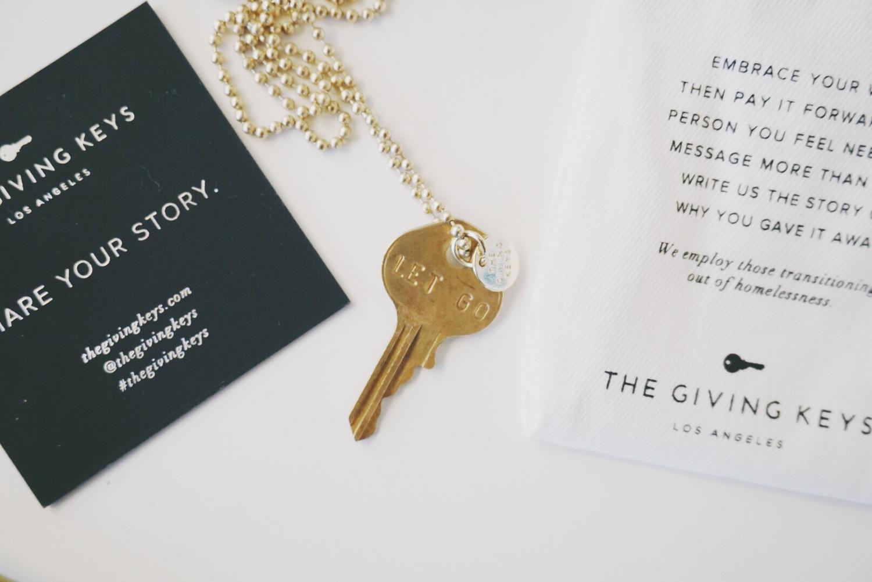 Let Go / The Giving Keys — THE FAUX FANCY