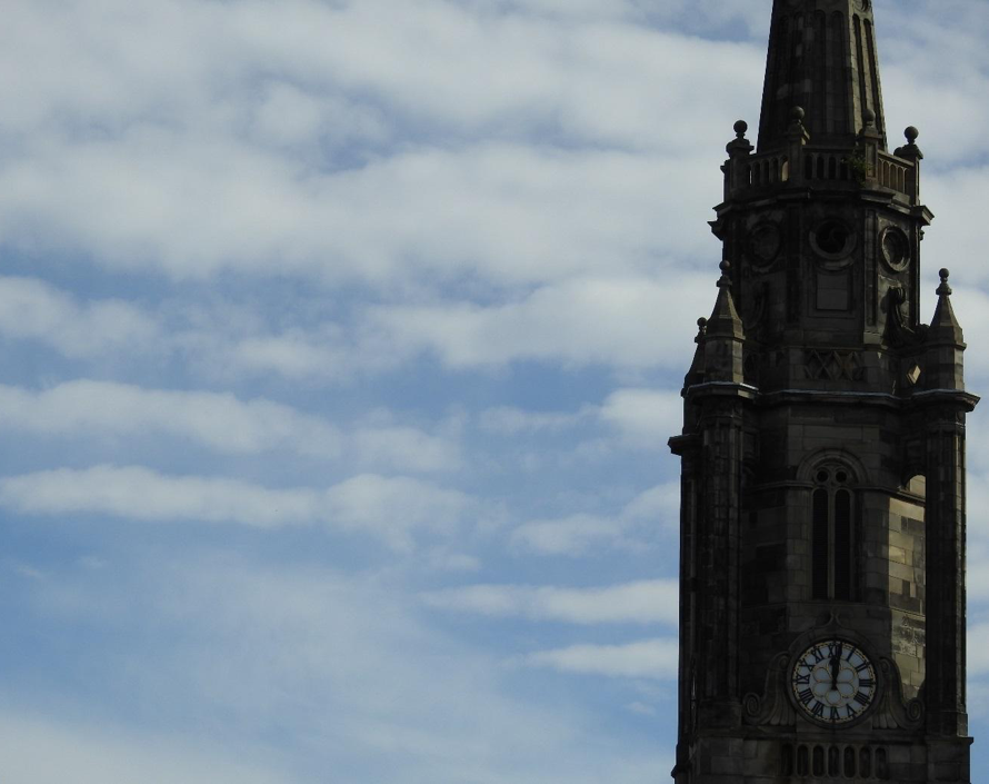 'Count to 12', Clock Tower, Edinburgh.