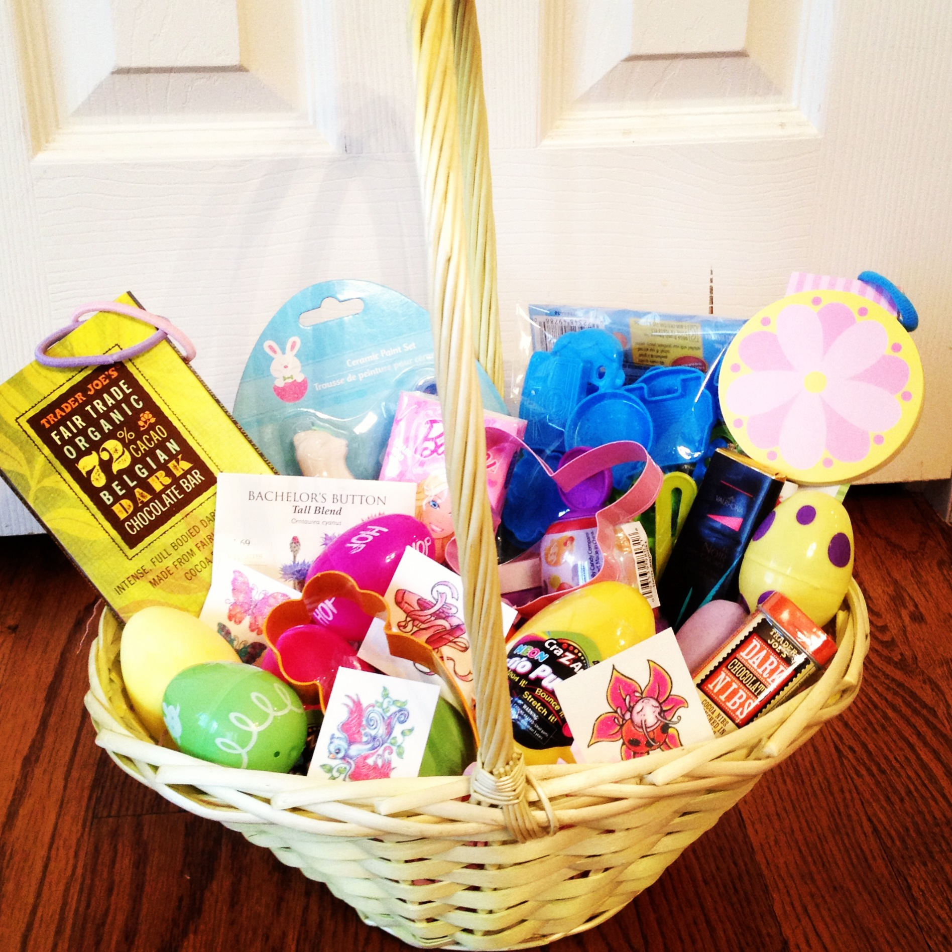 Healthy & Fun Easter Basket