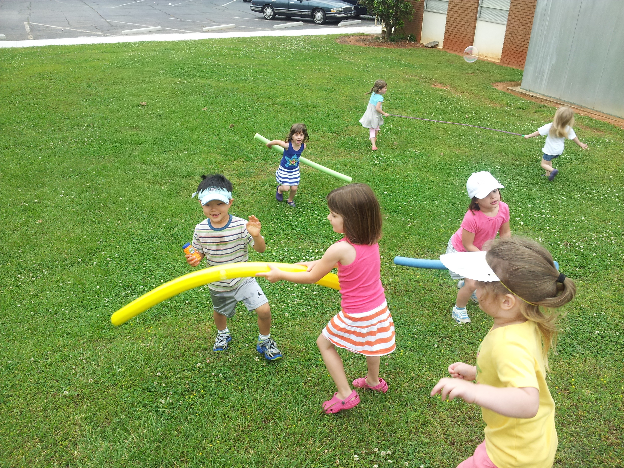 Best type of Fun-- Outside!