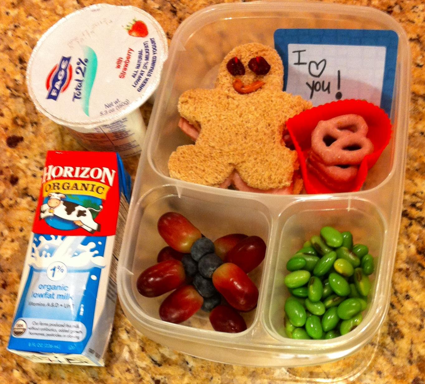 Kailtyn's favorite school lunch