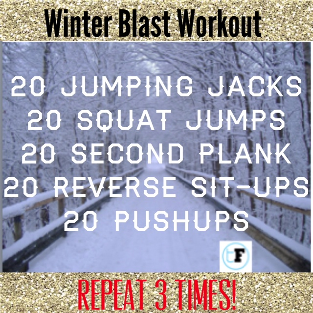 Winter Blast Workout