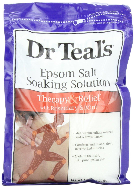 dr teals epsom salt