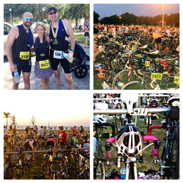 Our family doing something we love- a triathlon!