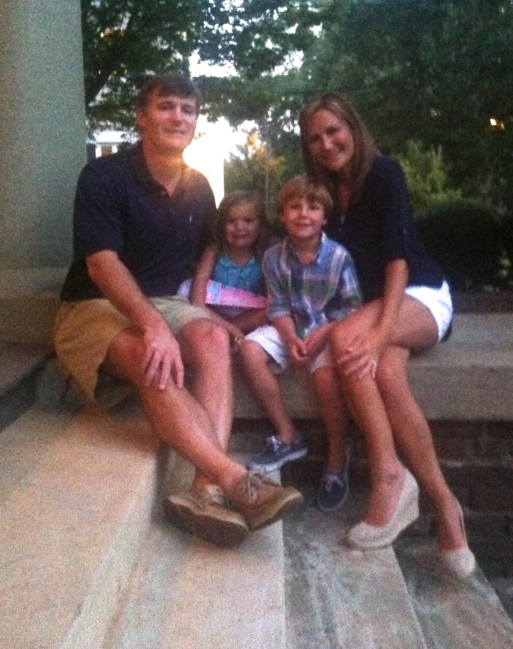 Carinne Hardin & family