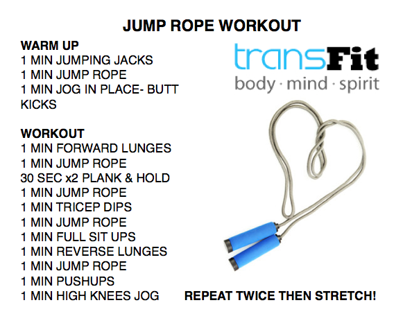 Jump Rope for Heart Health — TransFit