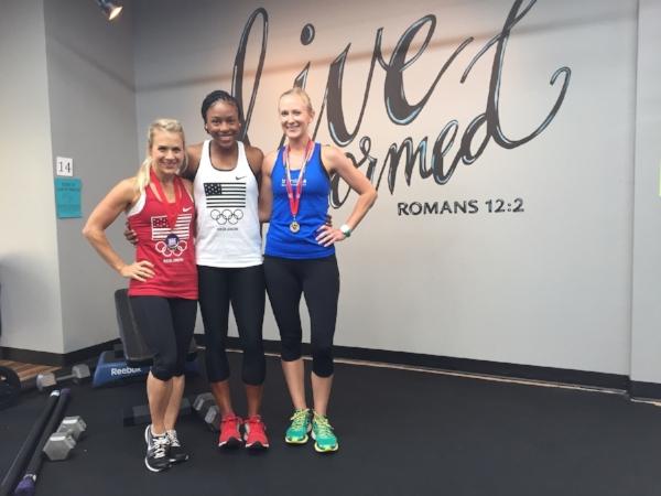 Caroline Ward, Demetria Hunte, & Katie Woodall