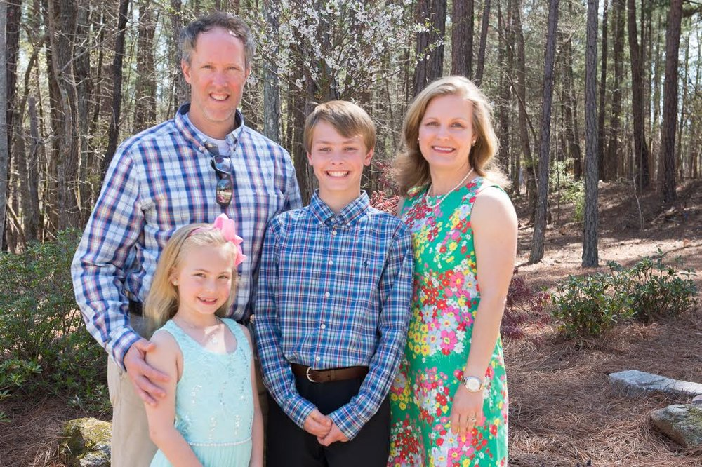Elizabeth Johnson and family