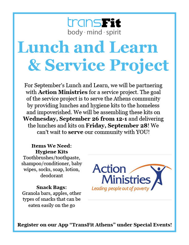 Lunch and Learn Service Project Flyer September 2018.jpg