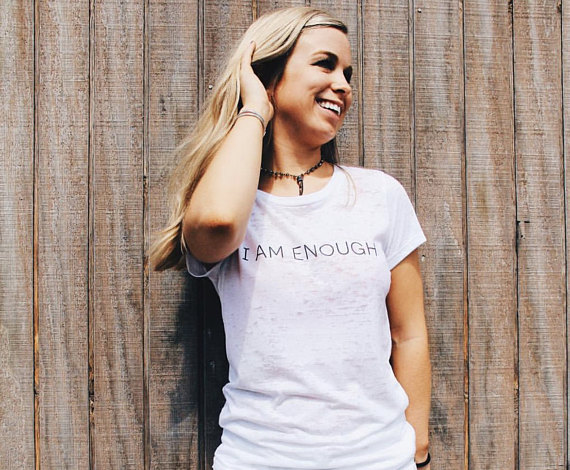 mac i am enough tee.jpg