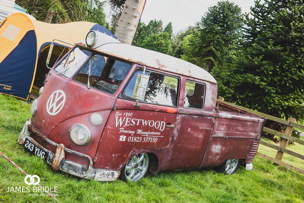VW Splitty Rusted Look