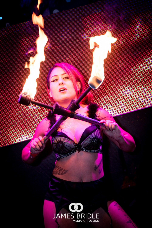 Naomi Fire Dancing