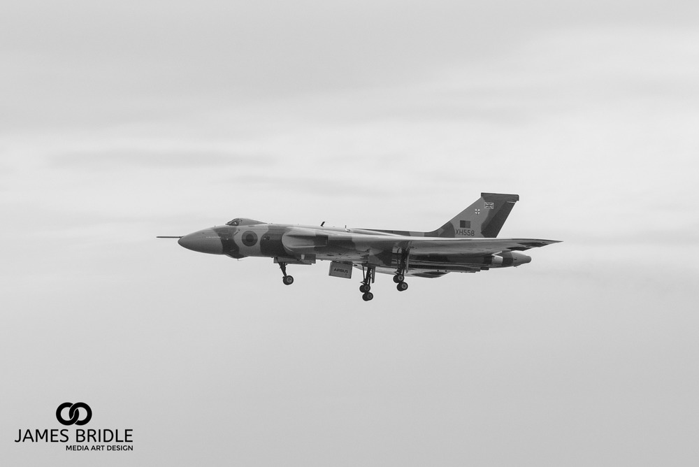 Vulcan Bomber final flight, Bournemouth airshow