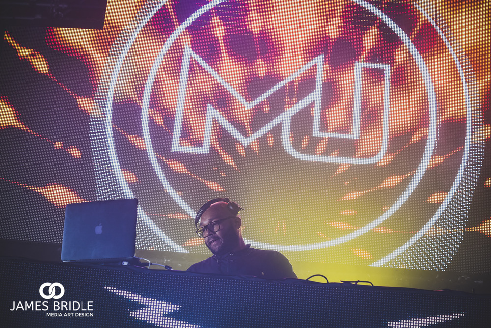 MistaJam playing at SoundClash 2016
