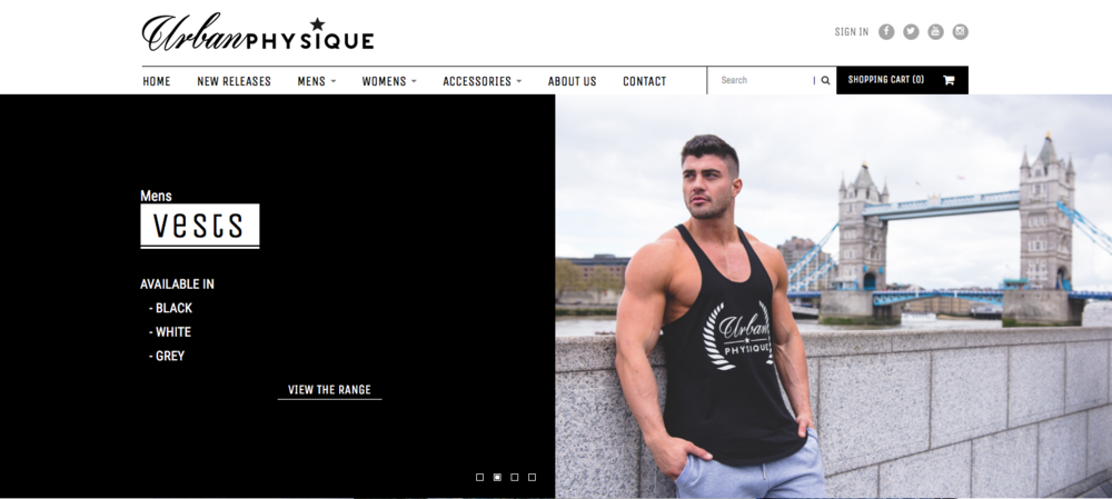 Urban Physique, Official