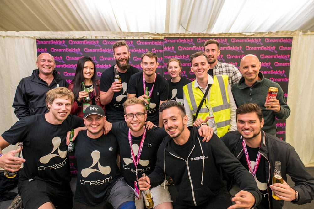 James Bridle Photography - 4th From Left Back taken at Creamfields 2016 // This photo was a bit of a bit big deal for me as it marks the point in which I felt like traction was being made. The skills and talent of the people that reside in this photo are endless! #Cream #Creamfields #PhotoTeam