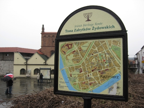 Kazimierz (Old Jewish Quarter), Krakow, Poland, 2009 (S J Kessler)