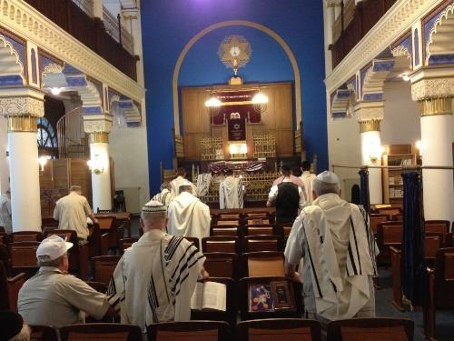 Keilstraße Synagoge,Leipzig, 2013 (S J Kessler)