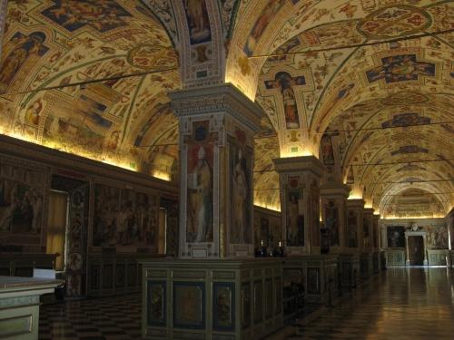 Vatican Library, 2009 (S J Kessler)