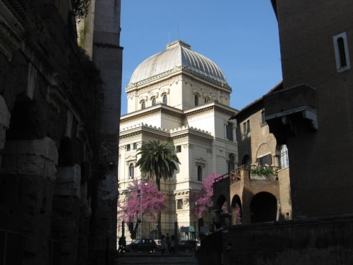 Great Synagogue, Rome, 2017 (S J Kessler)