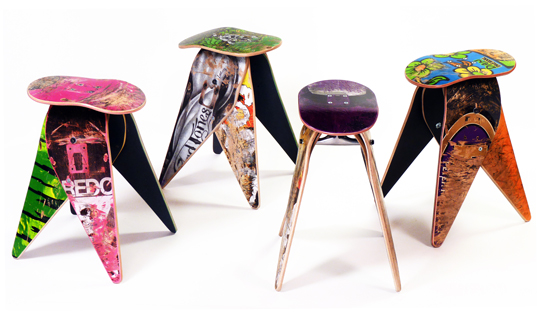Deckstool's namesake product. | Photos courtesy Deckstool