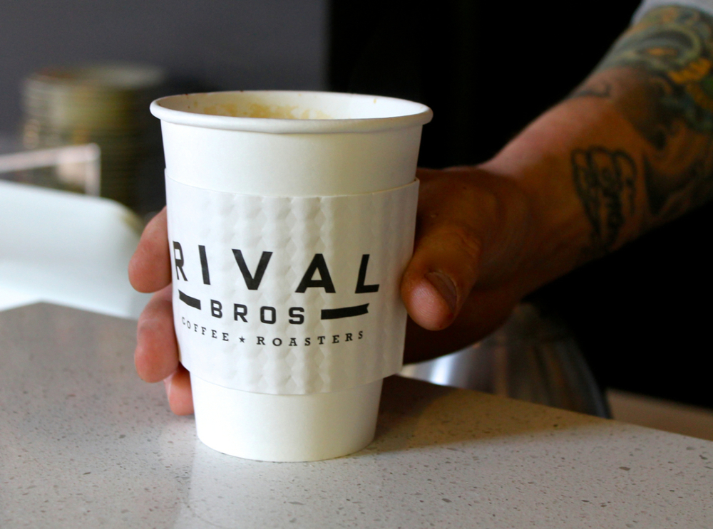"""Most of our coffees carry certifications of varying sorts. We believe in being responsible and sourcing appropriately,"" says Jonathan Adams, co-owner of Rival Bros."