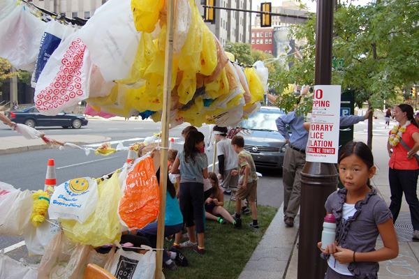 Plastic Bags Hut