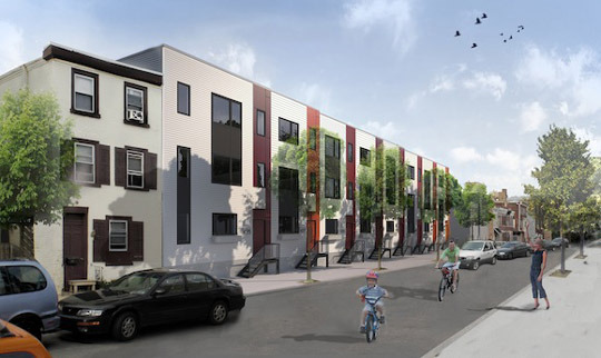 The energy-efficient mini-community of Awesometown will be built on one of Fishtown's many long-abandoned former industrial sites.