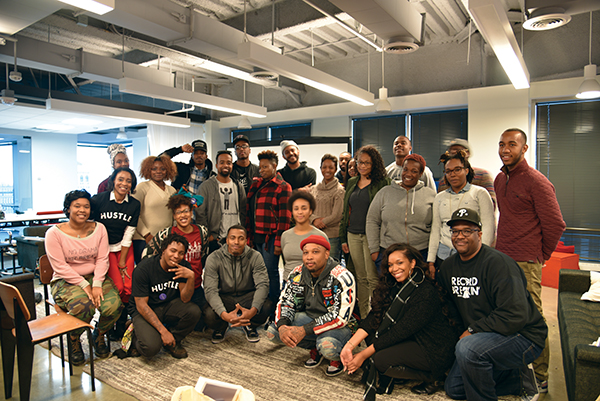 Photo courtesy of the Institute of Hip Hop Entrepreneurship (IHHE)