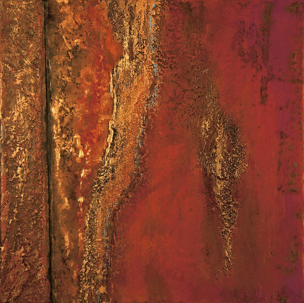 Laceration, 16 X 16, wax, oil, 2012.jpg